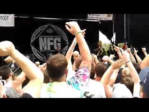 New Found Glory - My Friends Over You  (Live from The Warped Tour at Burgettstown)