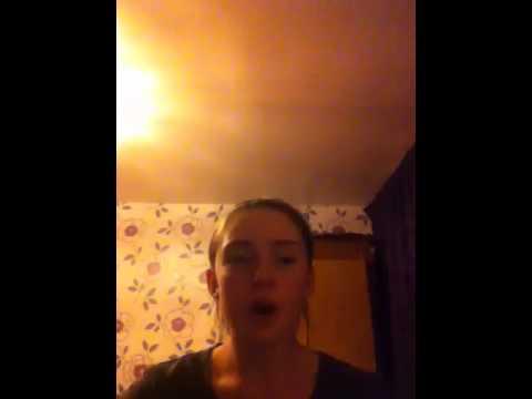 Hannah jade Williams (me) singing Valerie by Amy winehouse