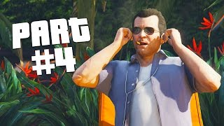 """Grand Theft Auto 5 - First Person Mode Walkthrough Part 4 """"Father/Son"""" (GTA 5 PS4 Gameplay)"""