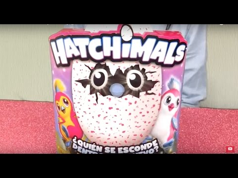 🐣Hatchimals en español 🐣juguete review