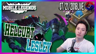[ENG/한국어] Road to No.1 Lesley Mobile Legends North America Marksman Player