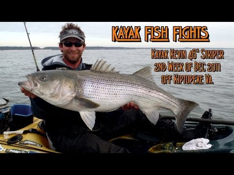 Kayak Fish Fights: Kayak Kevin 46