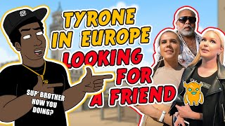 Black Guy Tries to Make Friends in Europe