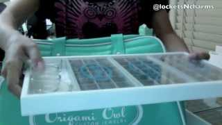 How I Organize And Carry My Origami Owl Charm Trays