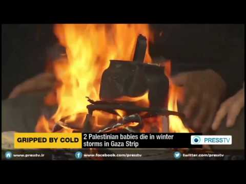 Two Palestinian Babies Die Of Cold Weather In Gaza Strip