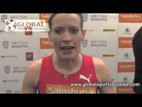 Eilidh Child Post Diamond League interview - Birmingham 2015