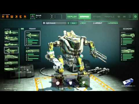 Hawken - Customization Walkthrough