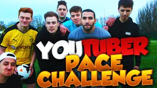 YOUTUBER PACE CHALLENGE!!!
