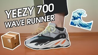 UNBOXING | ADIDAS YEEZY 700 WAVE RUNNER | REVIEW + ON FEET