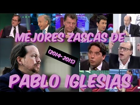 MEJORES MOMENTOS DE PABLO IGLESIAS CANDIDATO DE PODEMOS