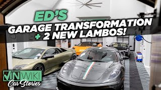 A Tour of Ed's Garage + 2 New Lambos