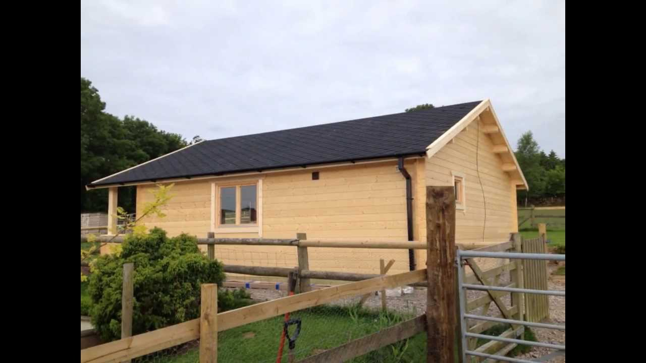 One Bedroom Residential Log Cabin Created By