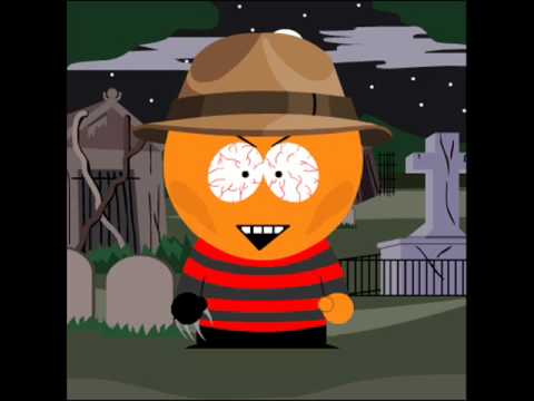 My top 10 horror characters in south park style