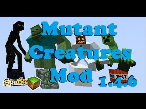 Mutant Creatures Mod!!! (1.5.2) How to install & Review