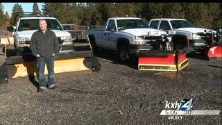 Mild winter creates problems for snow plow owners