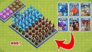 OMG! COC, Who Can Survive? Clash Of Clans Mod #26