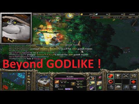 DotA 6.83d - Earth Spirit, Kaolin Beyond GODLIKE !