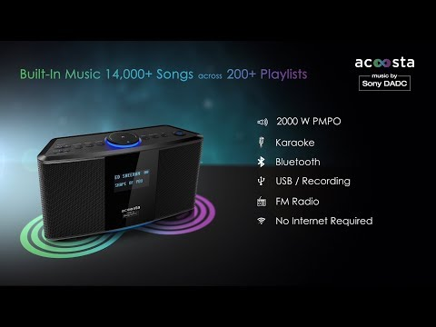 Acoosta UNO   Music by Sony DADC