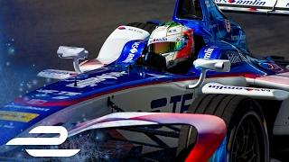 António Félix da Costa Crash! Buenos Aires 2017 FP1 - Formula E