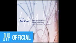 "Stray Kids 〈I am YOU〉  Inst. Lyric Card 5 ""Get Cool"""