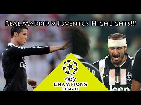Real Madrid vs Juventus 2-1 Highlights!!! - UEFA Champions League!!!!