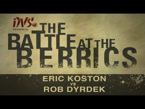 Eric Koston Vs Rob Dyrdek: BATB1 - Round 1