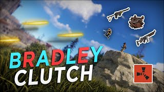 The BRADLEY CLUTCH that KICKSTARTED my RICHEST WIPE EVER! - Rust Solo Survival #1