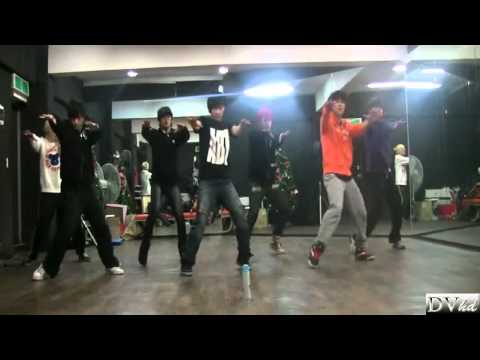 Infinite - Btd   Before The Dawn (dance Practice) Dvhd video