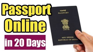 How to Apply for fresh Indian Passport Online {2019}