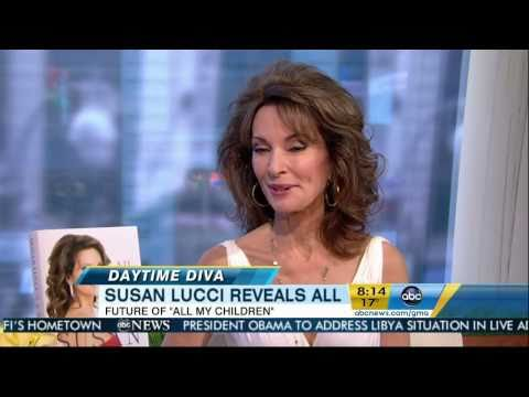 Susan Lucci on Good Morning America (03/28/2011)
