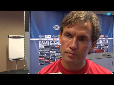 AZ-trainer Alex Pastoor over Heerenveen, Van Basten en Robert Mühren