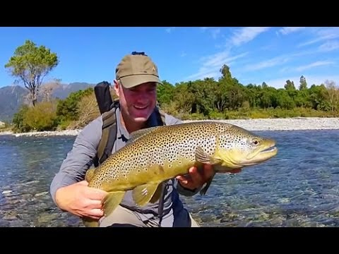 Fly fishing new zealand 10 rivers in 10 days youtube for New zealand fly fishing