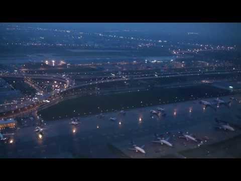 Amazing Onboard Taxi + Takeoff Thai Airways TG584 A300-600 Bangkok