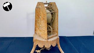 Rusty Roasting Spit Restoration