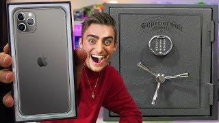 UNBOXING $50,000 MYSTERY SAFE (LEGIT IPHONE 11 pro)