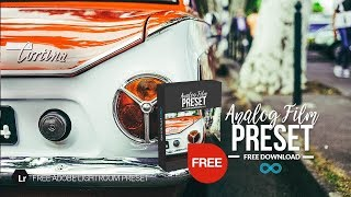 Free Analog Film Lightroom Preset by Photonify