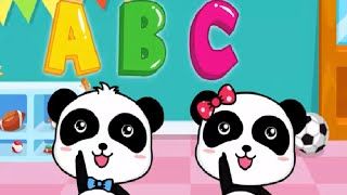 Baby Panda ABC SONG | Play And Learn The Alphabet  | Babybus Kids Games