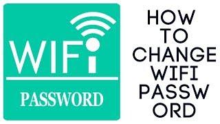 How to change edimax wifi password