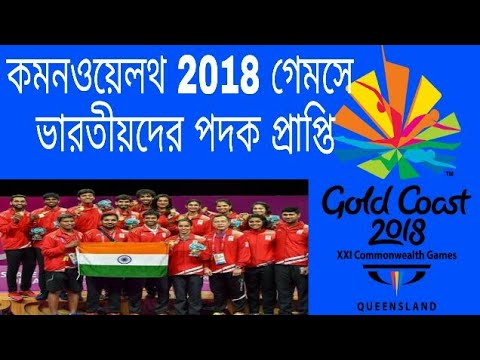 Commonwealth Games 2018 Indian Medels Achievement