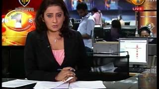 Newsfirst Prime time 9PM  english 31st August 2014