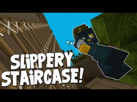 Minecraft - Mission To Mars - Squid's Slippery Staircase! [5]