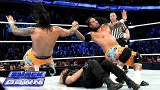 The Usos vs. Seth Rollins & Roman Reigns: SmackDown, Jan. 3, 2014