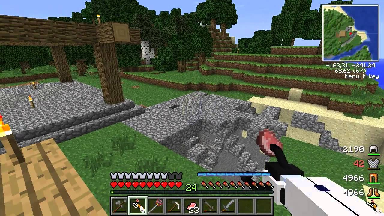 Minecraft C Модами
