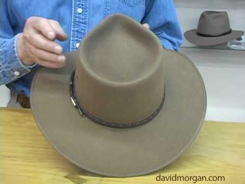 Care of quality fur felt hats: David Morgan Presents Akubra