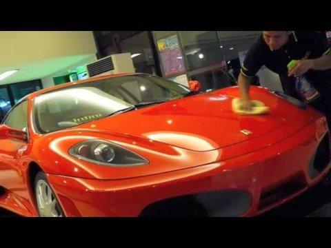 Ferrari Displays in Bangkok