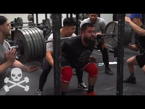 600LB SQUAT ATTEMPT @ 21 YEARS OLD