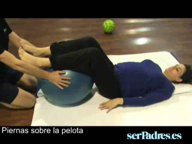 Pilates para embarazadas: ejercicios en pareja