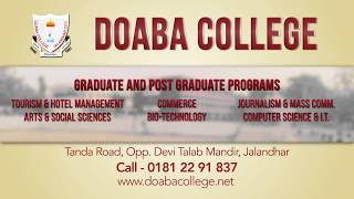 Doaba College Jalandhar - Excellence in Education