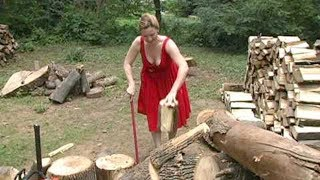 EXTREME Dangerous Firewood Processing Machine, Amazing Homemade Modern Wood Cutting Chainsaw Machine  from PIXEL GAMES