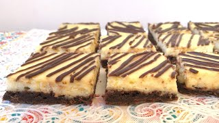 Brownie Cheesecake Recipe // Chizkeyk Pirojnoe